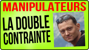 double contrainte manipulateur gregory bateson injonction contradictoire injonction paradoxale piège